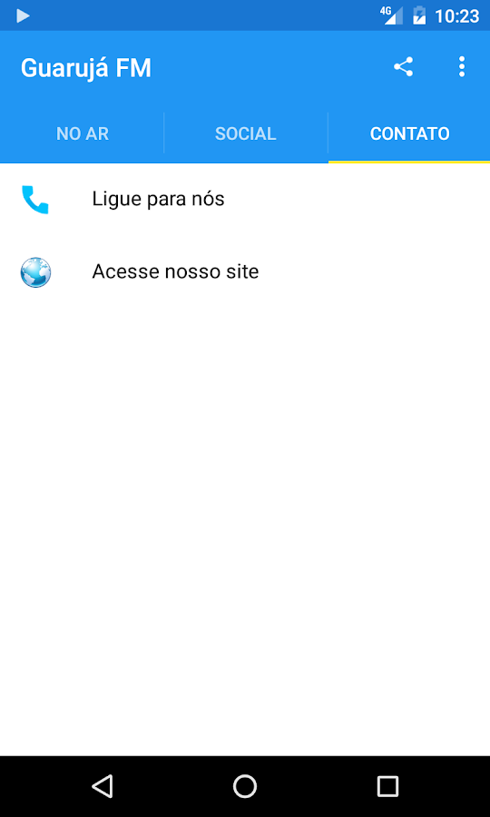 Guarujá FM- screenshot