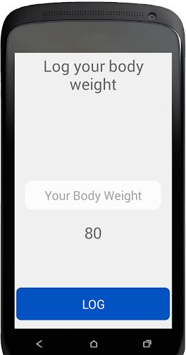 Body Weight Log 1.0.2 screenshots 2
