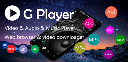 G Player is a free video and music player, supports almost all format files.