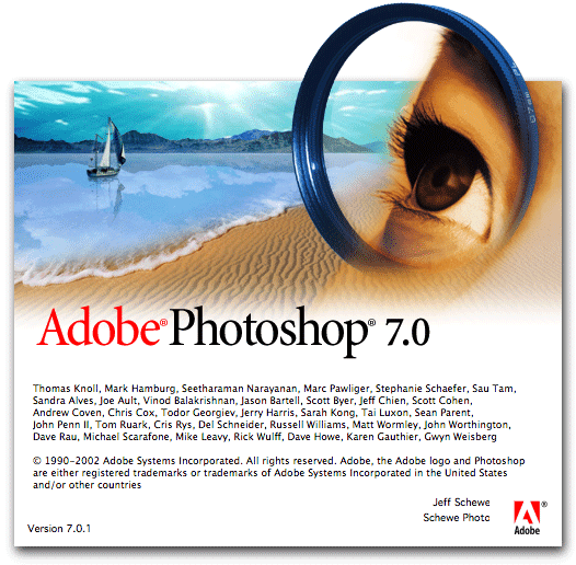Portable Adobe Photoshop 7.0