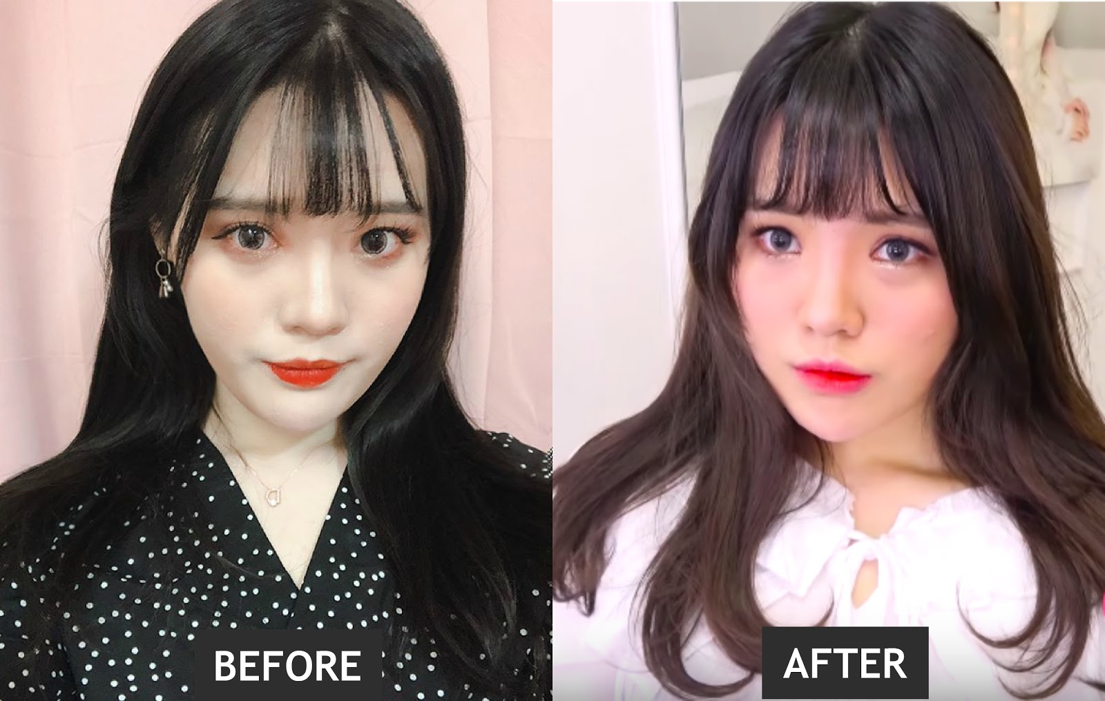 kpop artist before and after makeup | saubhaya makeup