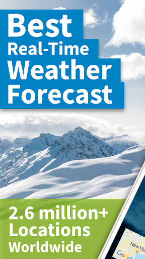 Weather by WeatherBug: Real Time Forecast & Alerts screenshot