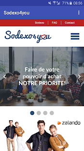 Sodexo4you – Vignette de la capture d'écran