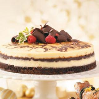 Decadent Brownie Swirl Cheesecake