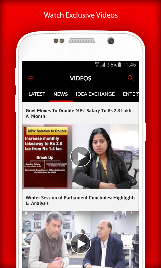 India News Indian Express- screenshot