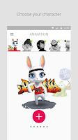 Screenshot of Zoobe - cartoon voice messages