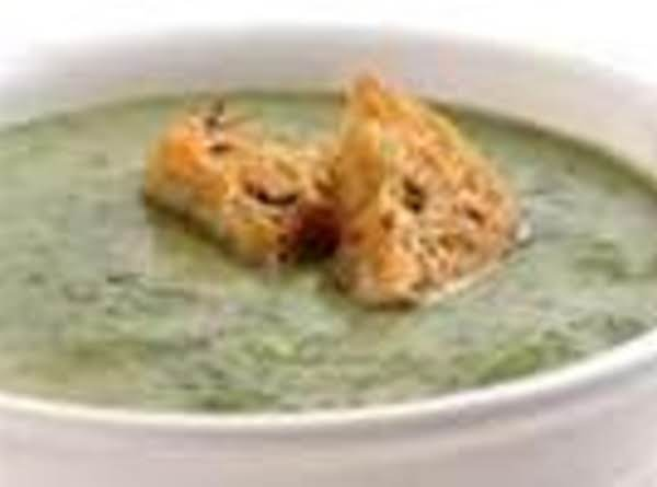 Very Easy Cream Of Spinach Soup Recipe