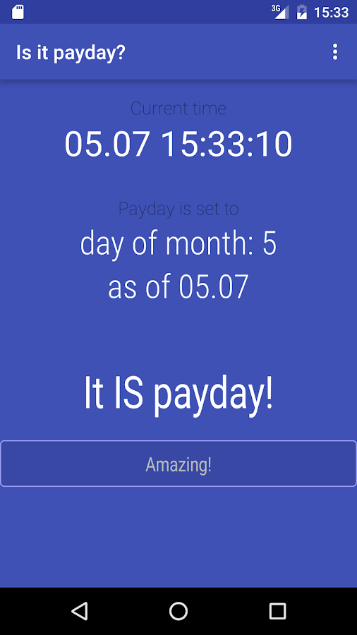 Is it payday?- screenshot