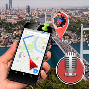 GPS Voice Street View: Voice Navigation,Speed Cam