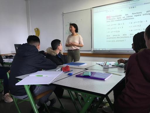 Intervention de Maureen Rousseau, Directrice des ressources humaines chez Google France au Collège Victor Schoelcher à Torcy