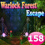 Warlock Forest Escape Game 158