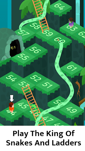 🐍 Snakes and Ladders - Free Board Games 🎲 androidiapk screenshots 1