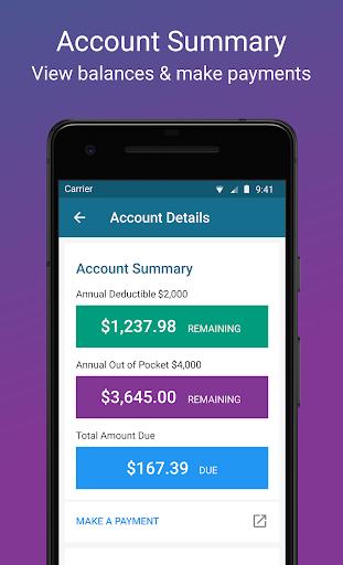 (APK) تحميل لالروبوت / PC CareSource Mobile App تطبيقات screenshot