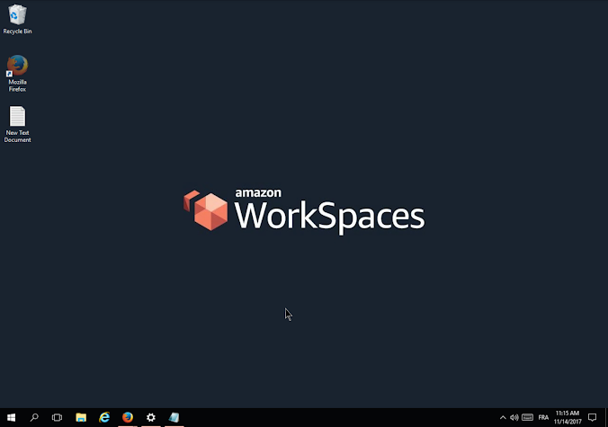 Amazon WorkSpaces Screenshot