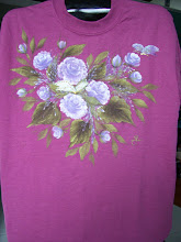 Photo: 106 Roses and butterflies. Color: Mauve. $35.00