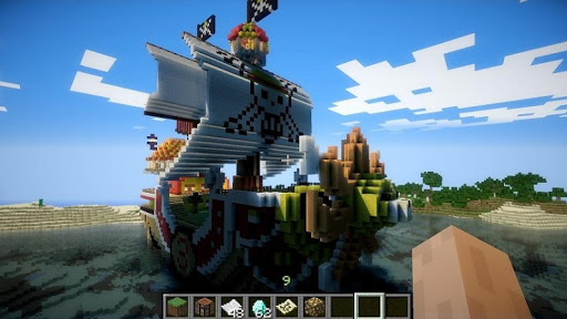 Pirate Ships Minecraft