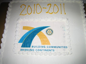 Photo: Presidential Cake - June 5, 2010 Installation Banquet honoring our new President Dennis Micare - Rotary Club of DeBary-Deltona ------- GOOGLE MADE ALL THESE PICTURES DISAPPEAR MYSTERIOUSLY!