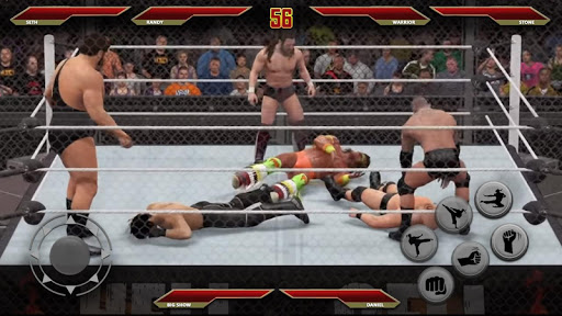 Wrestling Champions Ultimate Cage Revolution Fight 1.0 {cheat|hack|gameplay|apk mod|resources generator} 4
