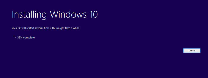 How to Install Windows 10 Pro step 7