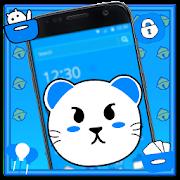 القط الأزرق أنيمي الموضوع APK