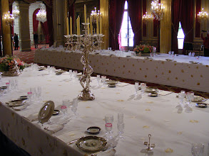 Photo: The room can hold up to 240 guests for State dinners.