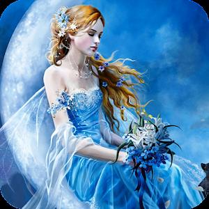 Blue Fairy Live Wallpaper
