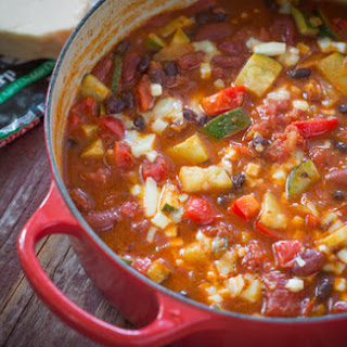 Vegetable and Bean Chili.