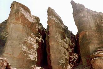 Photo: Désert du Néguev, Solomon's pillars