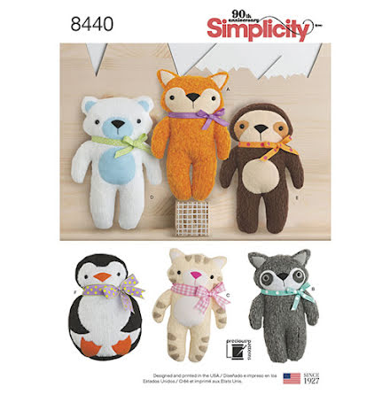 Mjukdjur Simplicity 8440