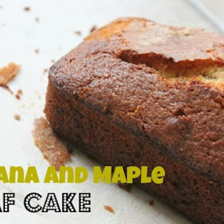 Banana Maple Syrup Cake Recipes