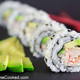 Shrimp Tempura Roll.