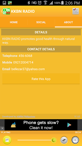 android KKBN RADIO Screenshot 3