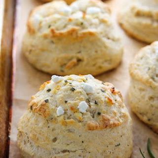 Rosemary Goat Cheese Biscuits
