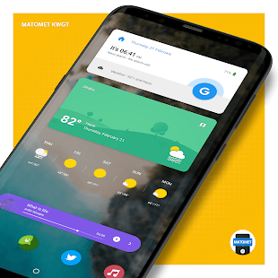 Matomet KWGT Screenshot