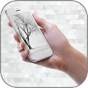 White Winter Theme & Launcher icon