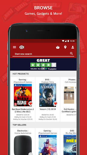 CeX: Tech & Games - Buy & Sell 2.16.4 screenshots 1