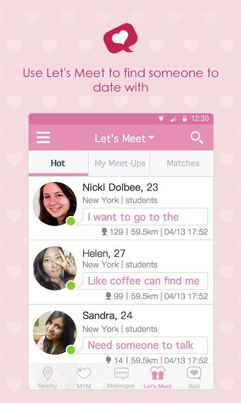 How to schedule meeting dating apps