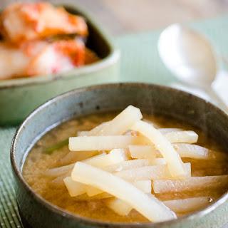 Korean Radish Soup Recipe (Mu Deonjang Guk) Recipe