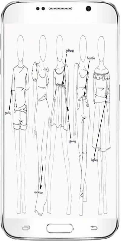 pioneer woman clothing drawing. easy draw clothes design- screenshot. \ pioneer woman clothing drawing