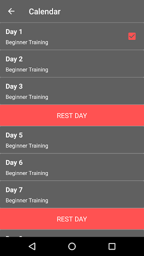 30 Day Legs Workout Challenge  screenshots 5