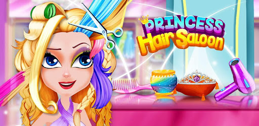 Star Princess Hair Salon – Color the Hair for PC