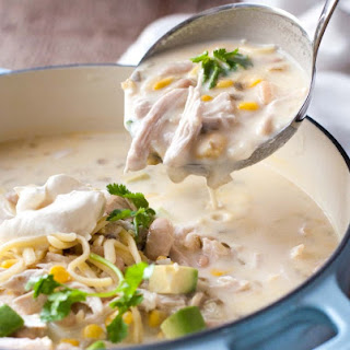 White Chicken (or Turkey) Enchilada Soup