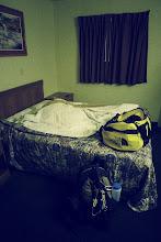 Photo: You sleep at base camp (errr...The Travelodge)
