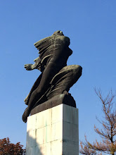 Photo: Belgrade Fortress French Statue something
