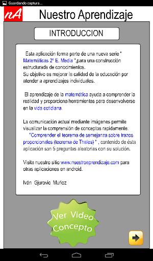 TeoremaThales semejanza trazos 1.0.0 screenshots 2