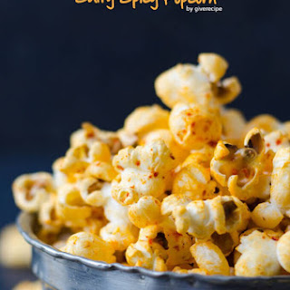 Salty Spicy Popcorn.