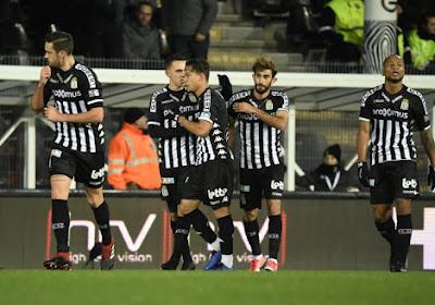 Les joueurs du Sporting Charleroi victimes de contractures en stage