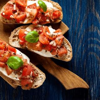 Mozzarella Tomato Bruschetta Recipe