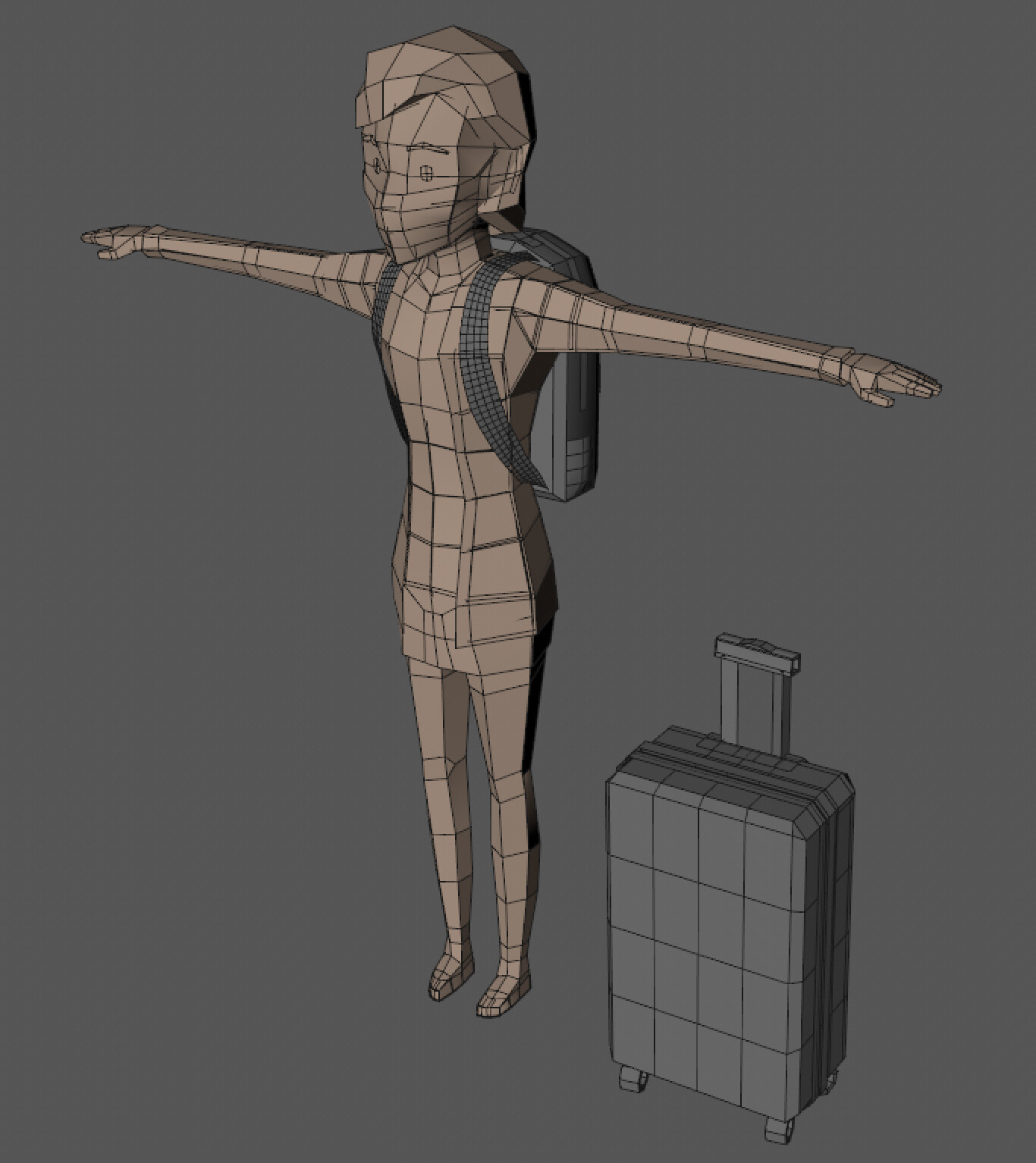 Character Modeling 1 by Something's Awry Team
