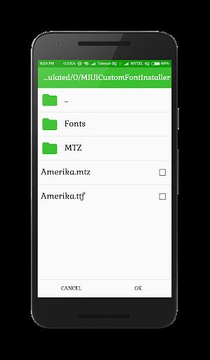 MIUI Custom Font Installer screenshot 6